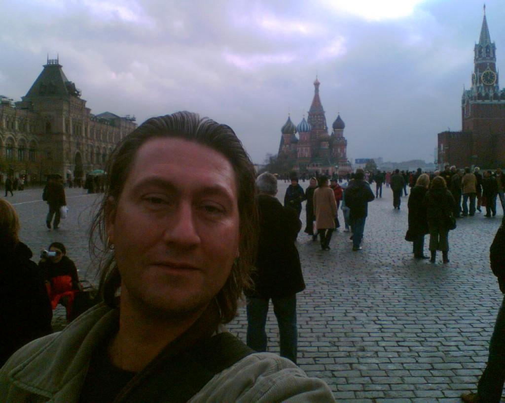 Michael Boerop Rode plein Moskou
