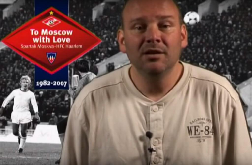 Spartak Moskou Haarlem video Edwin Struis