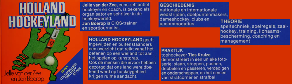 Boek Holland Hockeyland