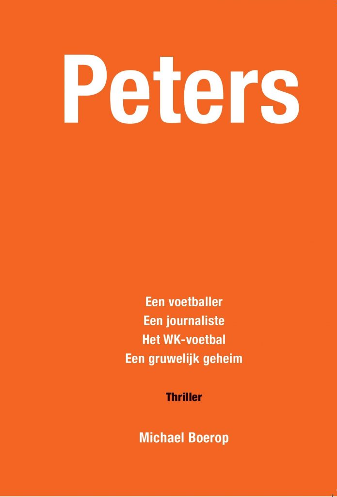 Cover voetbalthriller Peters - Michael Boerop
